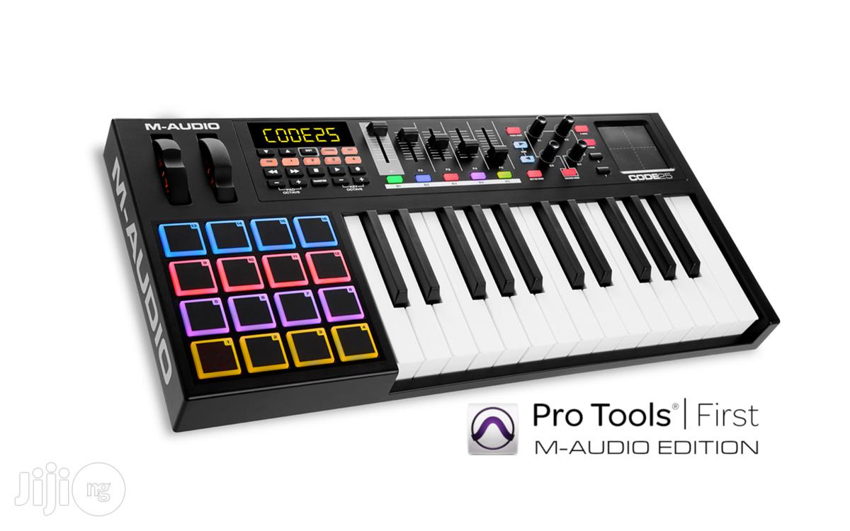M-AUDIO Code 25-keys Usb/Midi Controller With X/Y Touch Pad