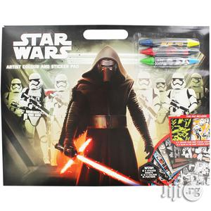 Star Wars Artist Colour And Sticker Pad | Babies & Kids Accessories for sale in Lagos State, Surulere