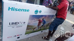 Hisense 75 Smart Uhd Tv 4k   TV & DVD Equipment for sale in Lagos State, Ojo