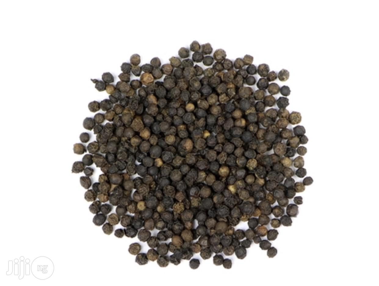 Black Pepper (Peppercorn, Black) 100g | Feeds, Supplements & Seeds for sale in Uyo, Akwa Ibom State, Nigeria