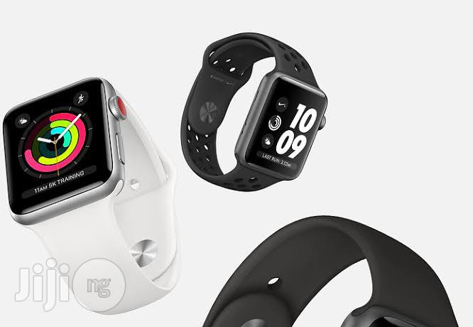 Iwatch Series 3 (38MM) GPS | Smart Watches & Trackers for sale in Benin City, Edo State, Nigeria