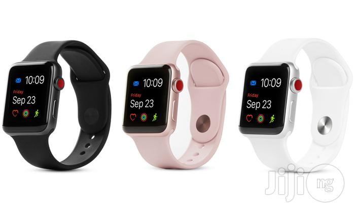Iwatch Series 3 (42MM) GPS&CELL | Smart Watches & Trackers for sale in Benin City, Edo State, Nigeria