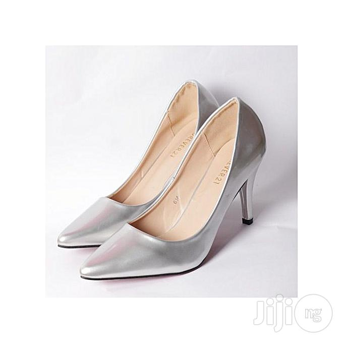 Archive: Forever 21 Silver Court Shoes
