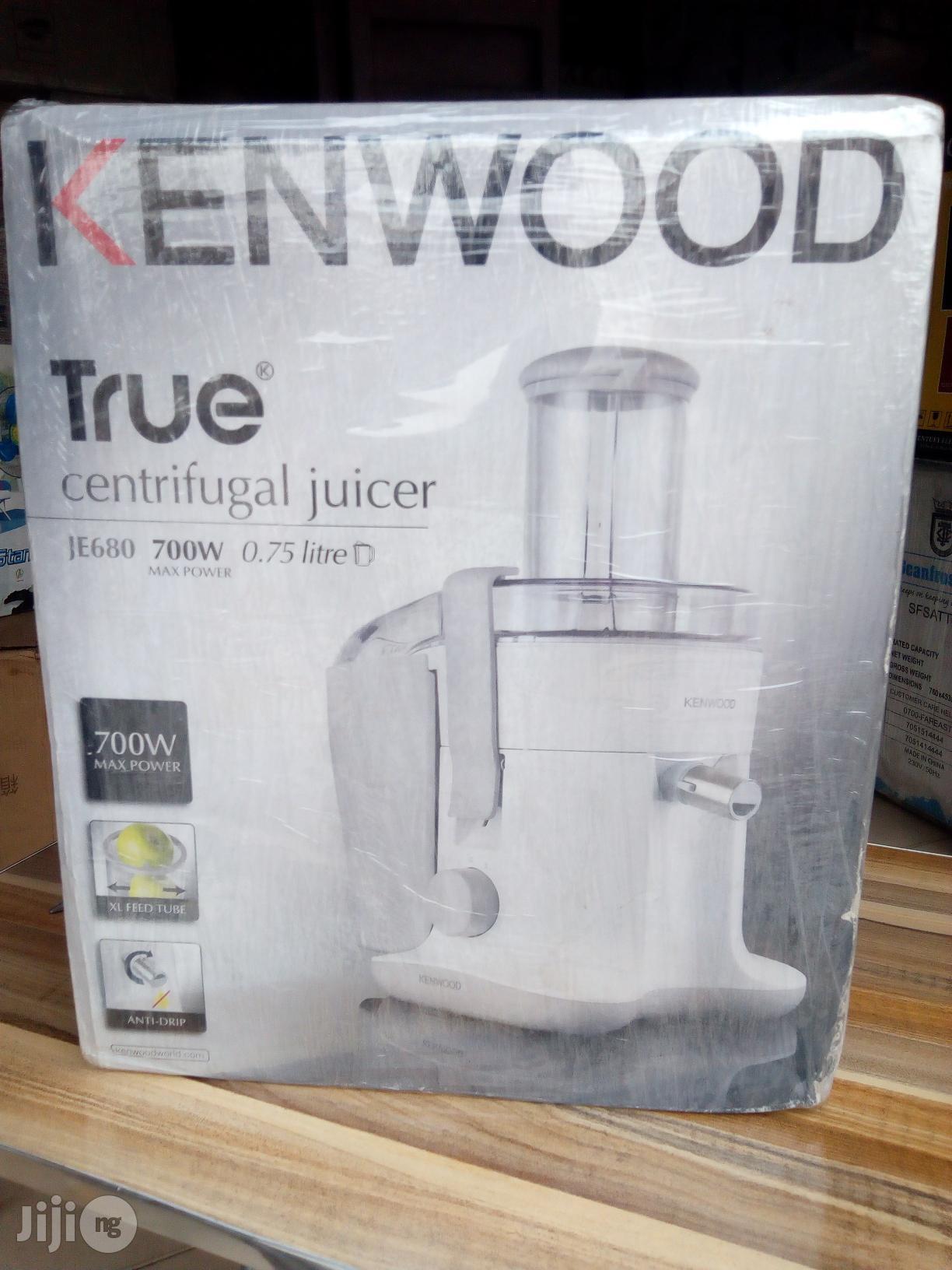 Archive: Kenwood Centrifugal Juicer 700w 0.75litres