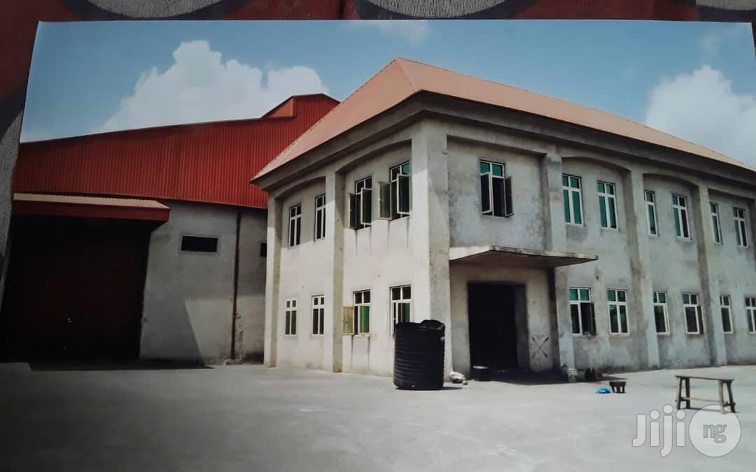 20,000 Square Feets Of Warehouse And A Storey Building Office Space At Amuwo-odofin Lagos State