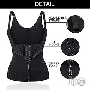 Super Waist Trainer, Vest Corset With Double Power-Zip/Hook | Clothing Accessories for sale in Lagos State, Agege