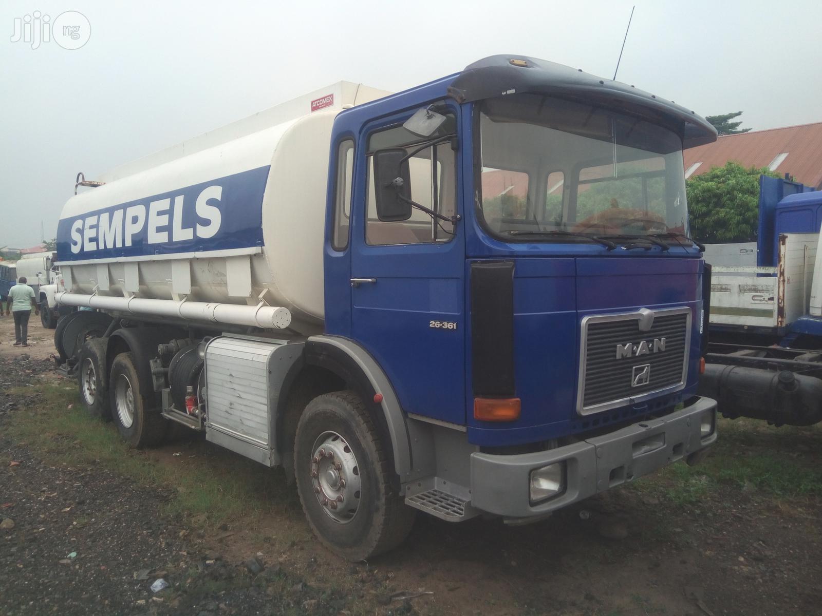 Man Diesel Peddler(Diesel Tank) | Trucks & Trailers for sale in Apapa, Lagos State, Nigeria