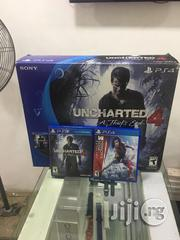 Sony PS Slim Used With Two Game | Video Game Consoles for sale in Lagos State, Ikeja