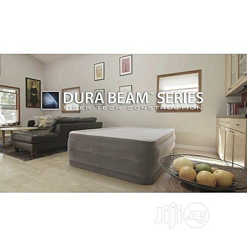Intex Queen Dura-beam Comfort-plush High Rise Airbed
