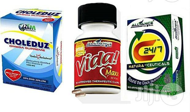 3in1 Hypertension Wellness Pack: Vida Max, C247. Choleduz
