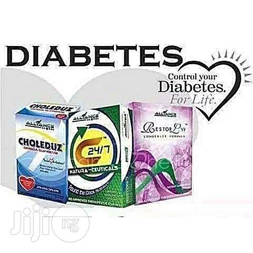 Archive: 3in1 Diabetes Wellness Pack: Restorlyf, C247, Choleduz