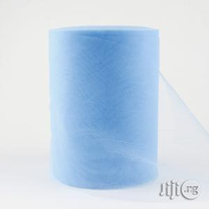 """6"""" X 25 Yards Powder Blue Tulle   Home Accessories for sale in Lagos State, Surulere"""