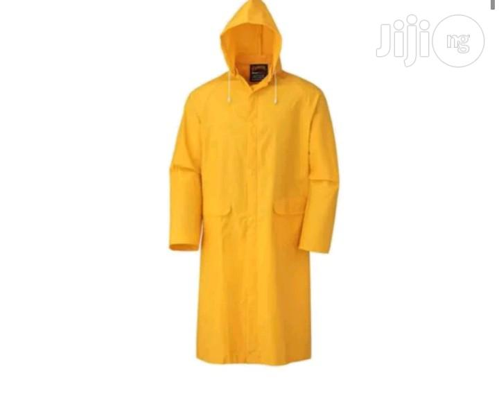 Safety Rain Coat PVC | Safetywear & Equipment for sale in Ikeja, Lagos State, Nigeria
