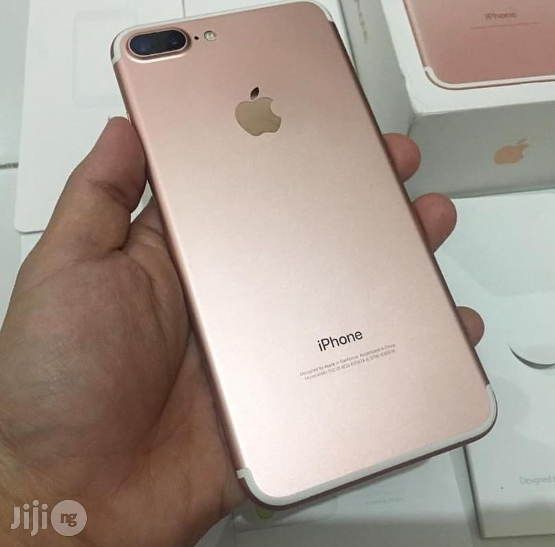 Apple iPhone 7 Plus 128 GB Gold   Mobile Phones for sale in Port-Harcourt, Rivers State, Nigeria