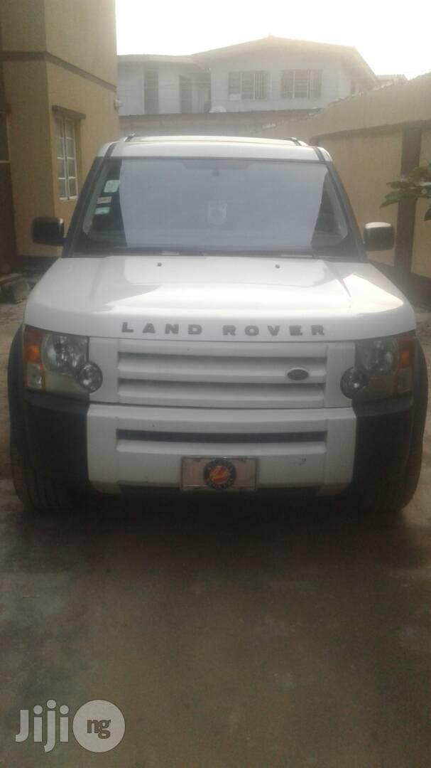 Land Rover LR3 2006 White