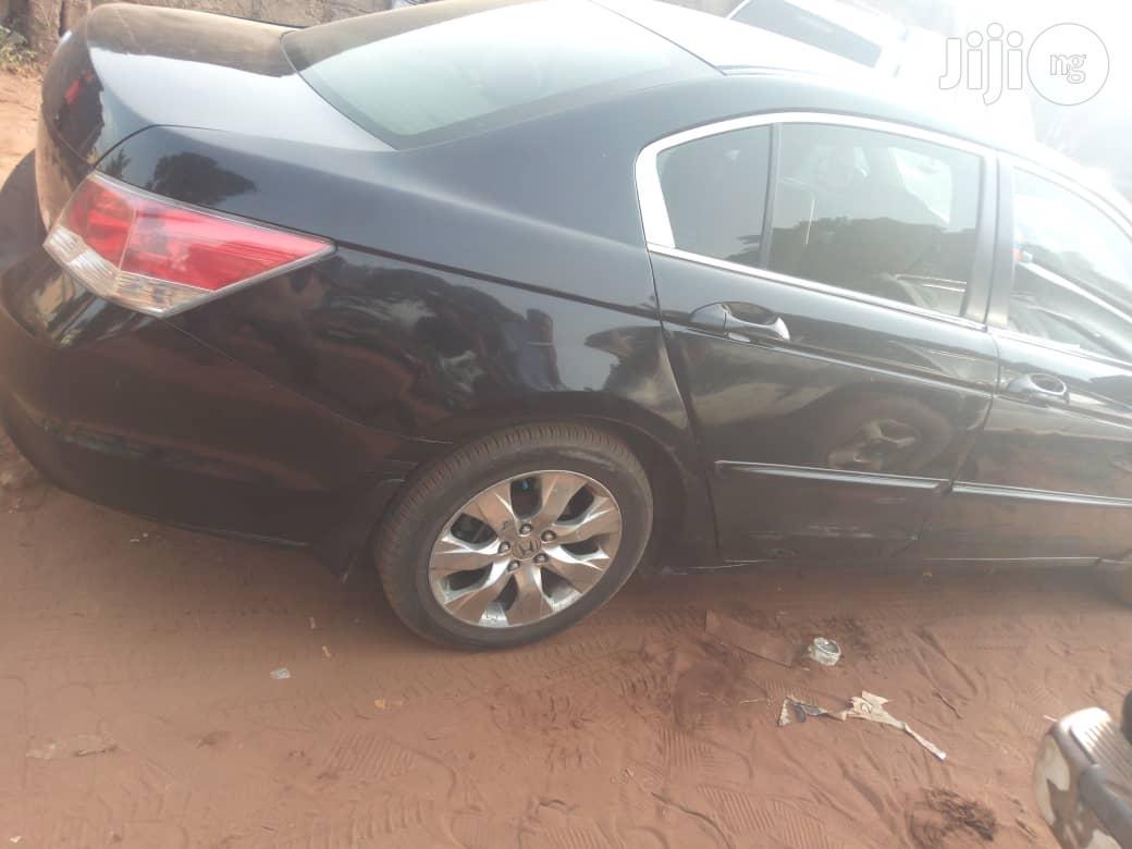 Honda Accord 2008 2.0 Comfort Automatic Black | Cars for sale in Awka, Anambra State, Nigeria
