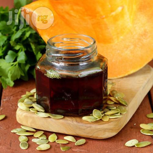 Pure Pumpkin Seed Oil 250ml | Skin Care for sale in Uyo, Akwa Ibom State, Nigeria