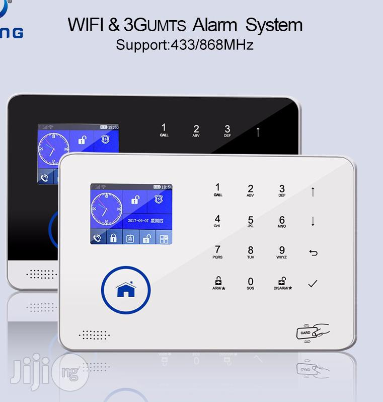 Home Burglary Alarm System