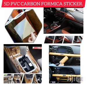 5D Formica Sticker for Car Interior Home Furnitures Decor.   Vehicle Parts & Accessories for sale in Imo State, Owerri