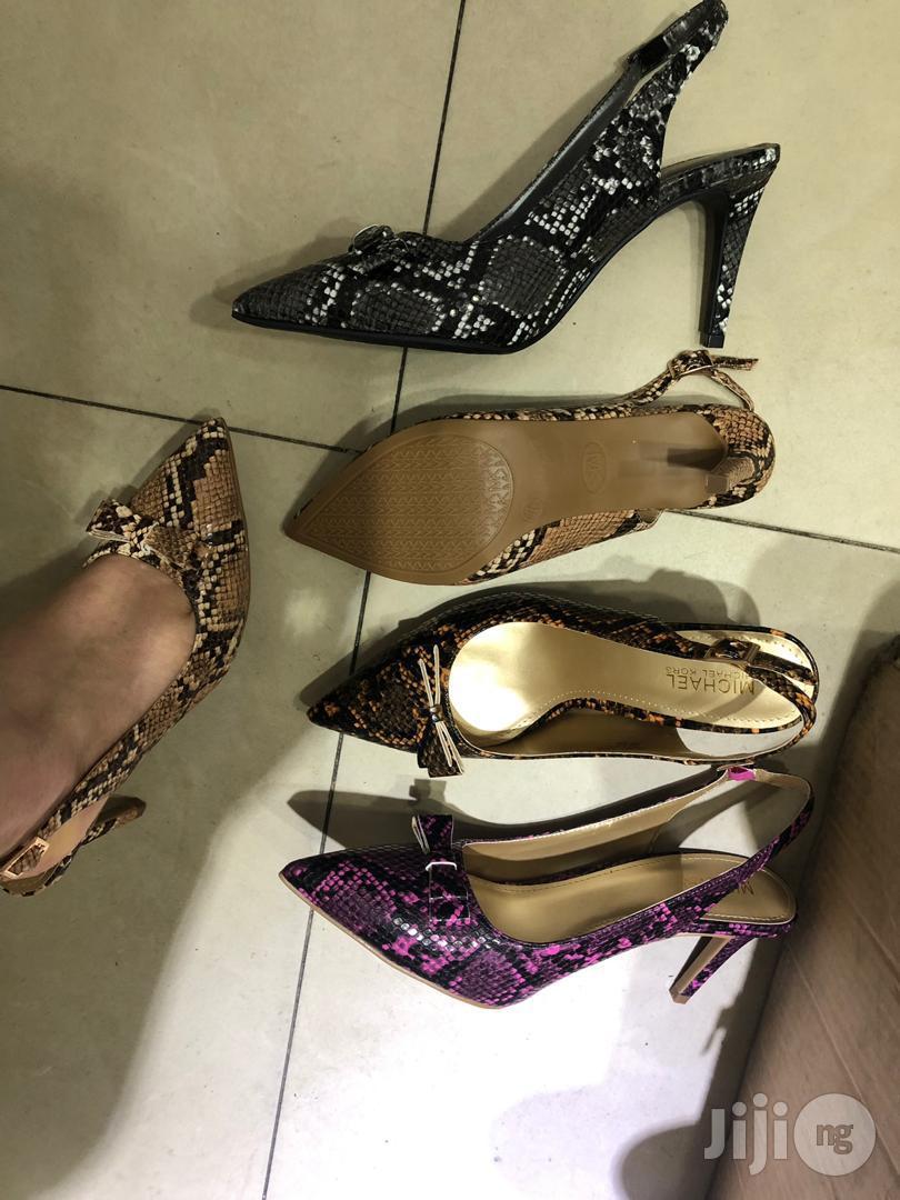 Animal Skin Leather Shoes in Shomolu