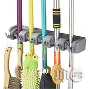 Broom Holder And Garden Tool Garage Organizer 5 Slots 6 Hooks… | Home Accessories for sale in Lagos State, Lagos Island