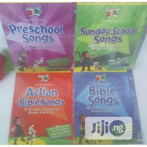 Cedermont CHRISTIAN Kids In 4 Single Dvds