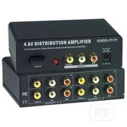 4-port Composite Video/Audio Splitter V | Accessories & Supplies for Electronics for sale in Lagos State, Ikeja