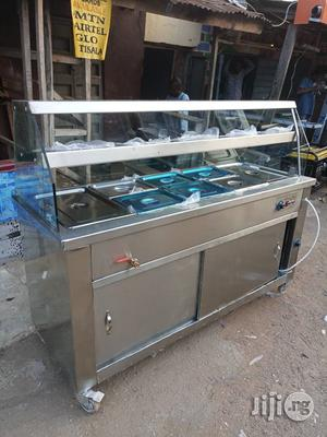 5 Plates Stainless Electric Food Warmer With Top and Cabinet   Restaurant & Catering Equipment for sale in Lagos State, Surulere