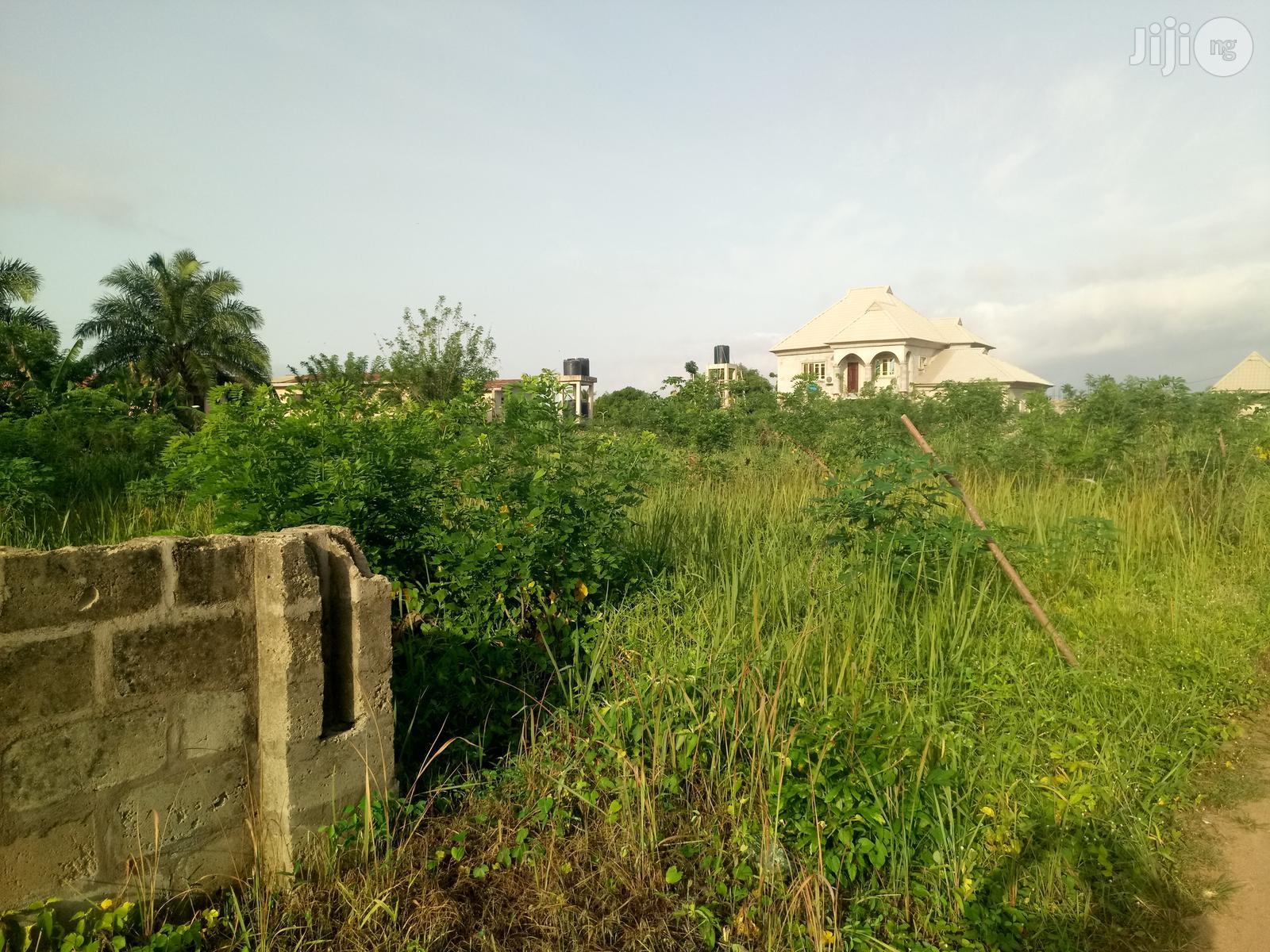 3 Plots of Land Fenced Off NTA Road ,Oba-Ile, Akure | Land & Plots For Sale for sale in Iju/Itaogbolu, Ondo State, Nigeria