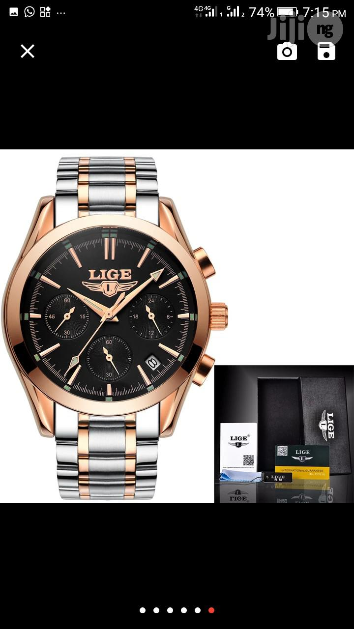Archive: LIGE Men's Quartz Wrist Watch