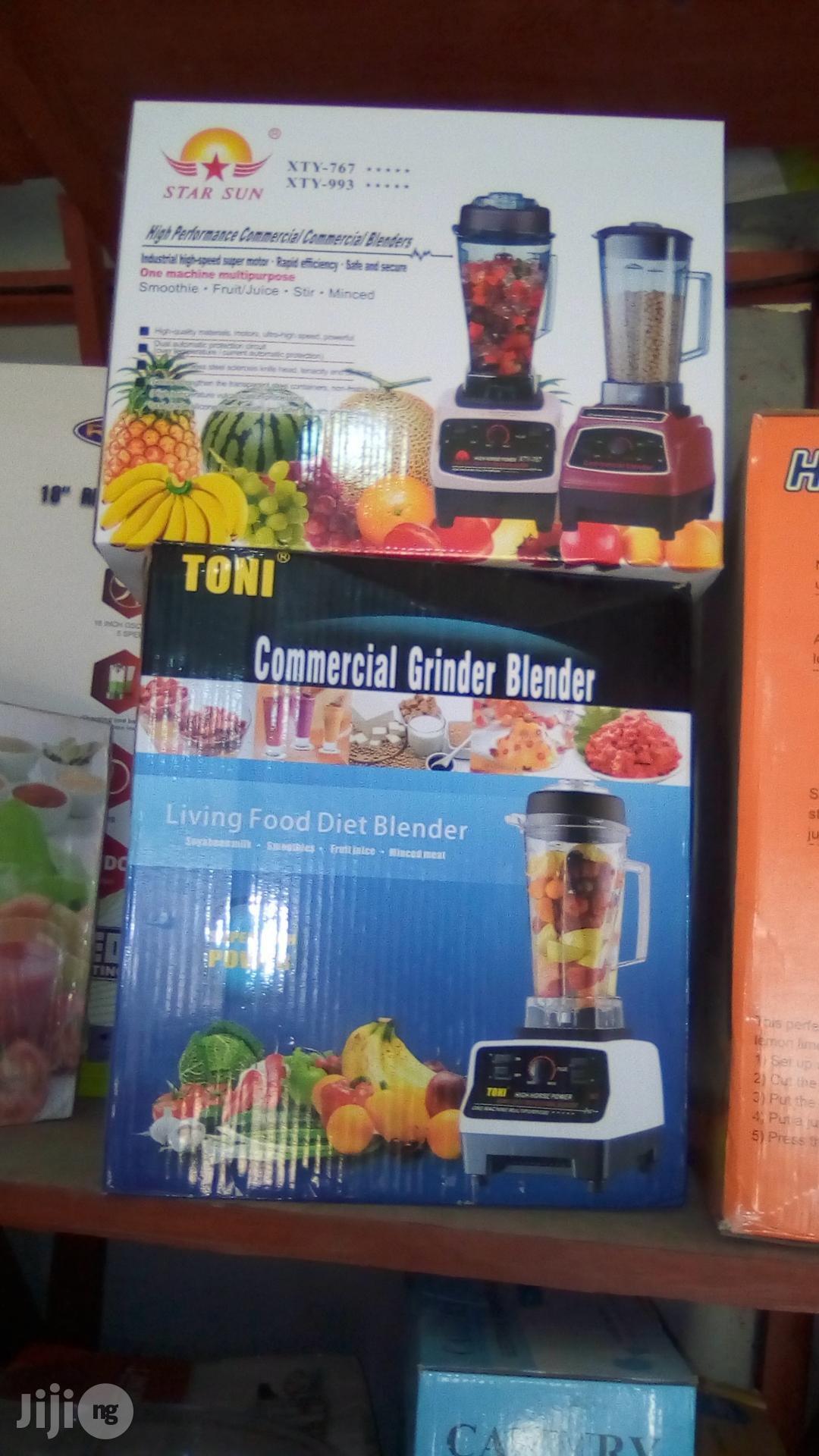 Commercial Grinder Blender