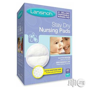 Lansinoh Stay Dry Disposable Breast Pads (60pcs)   Maternity & Pregnancy for sale in Lagos State, Ikeja