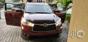 Toyota Highlander 2015 Red   Cars for sale in Lagos State, Lekki
