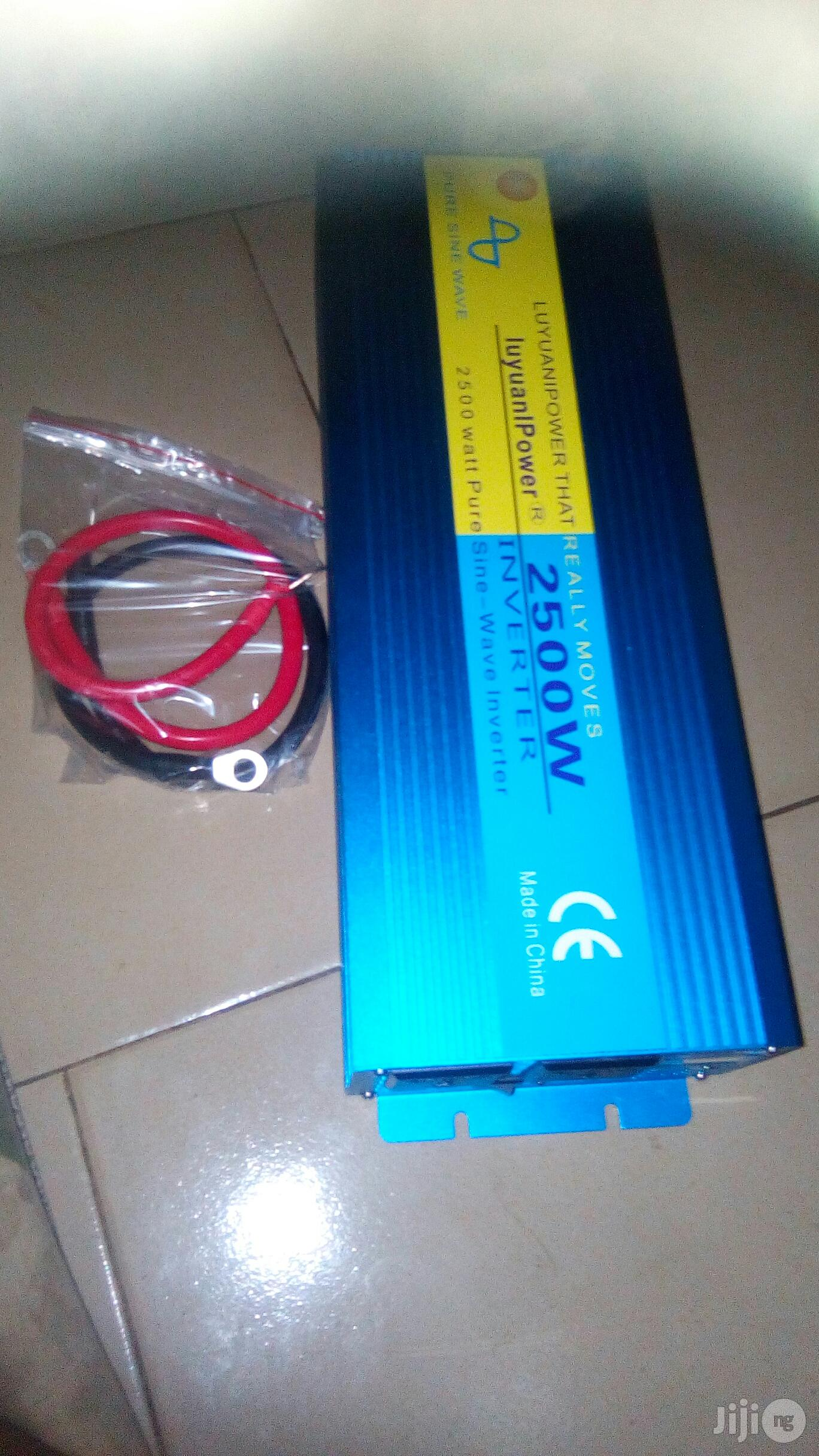 Archive: 2500W 12V Pure Sine Wave Inverter for Sale