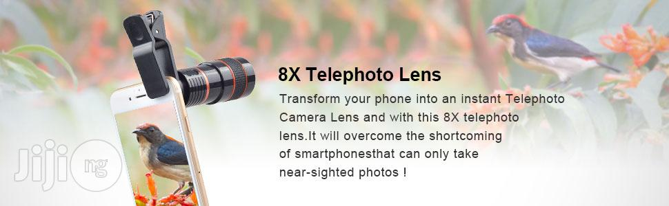 Universal Telescope Camera Mobile Phone Zoom Lens | Accessories for Mobile Phones & Tablets for sale in Isolo, Lagos State, Nigeria