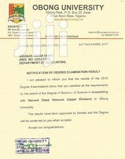 Graduate Trainee Cv | Internship CVs for sale in Akwa Ibom State, Obot Akara
