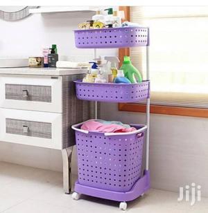 Multipurpose Storage Shelf With Basket | Furniture for sale in Lagos State, Ikeja