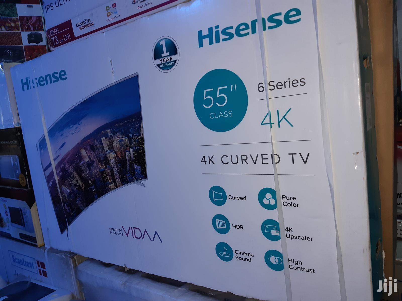 Hisense Culv Led (4K Uhd) (Youtube) TV 55 Inches