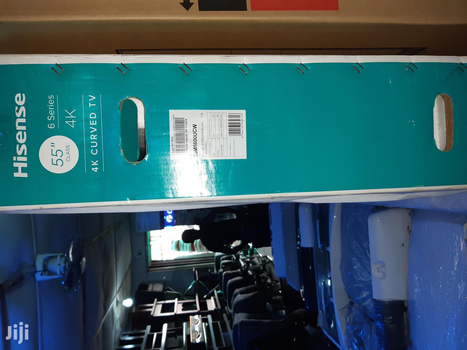 Hisense Culv Led (4K Uhd) (Youtube) TV 55 Inches | TV & DVD Equipment for sale in Oshodi, Lagos State, Nigeria