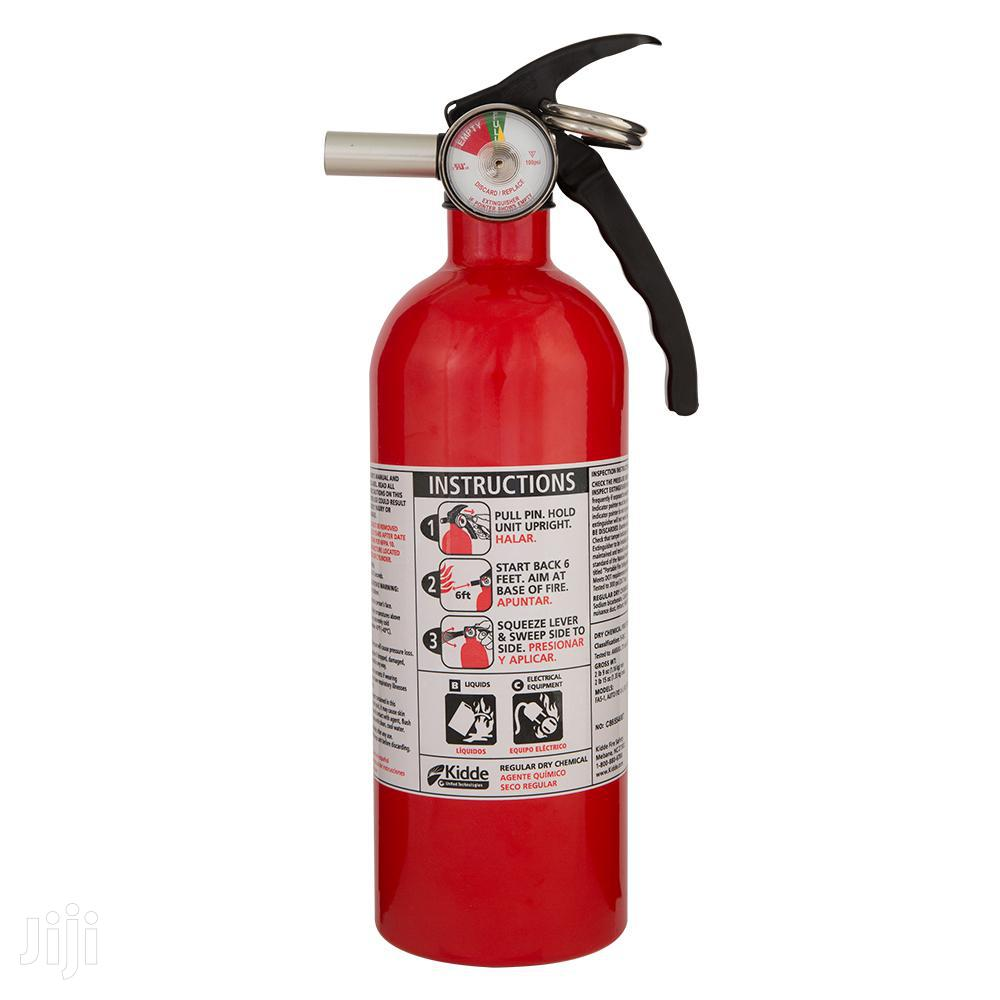Archive: Fire Extinguishers And Other Equipment