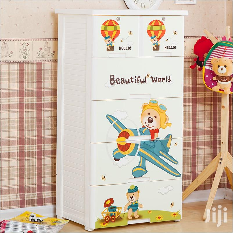 Archive: 5 Layer Kids Room Storage Drawer Cabinet