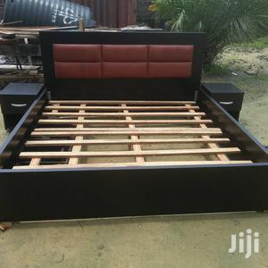 6 By 6 Bedframe With 2 Bed Side   Furniture for sale in Lagos State, Lekki