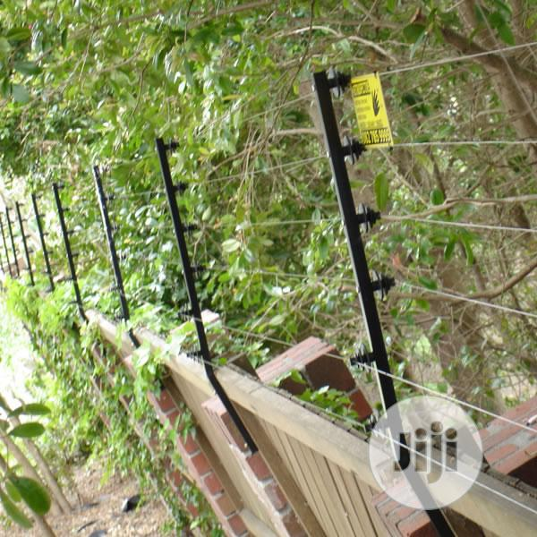 Installation Of Electric Perimeter Fence