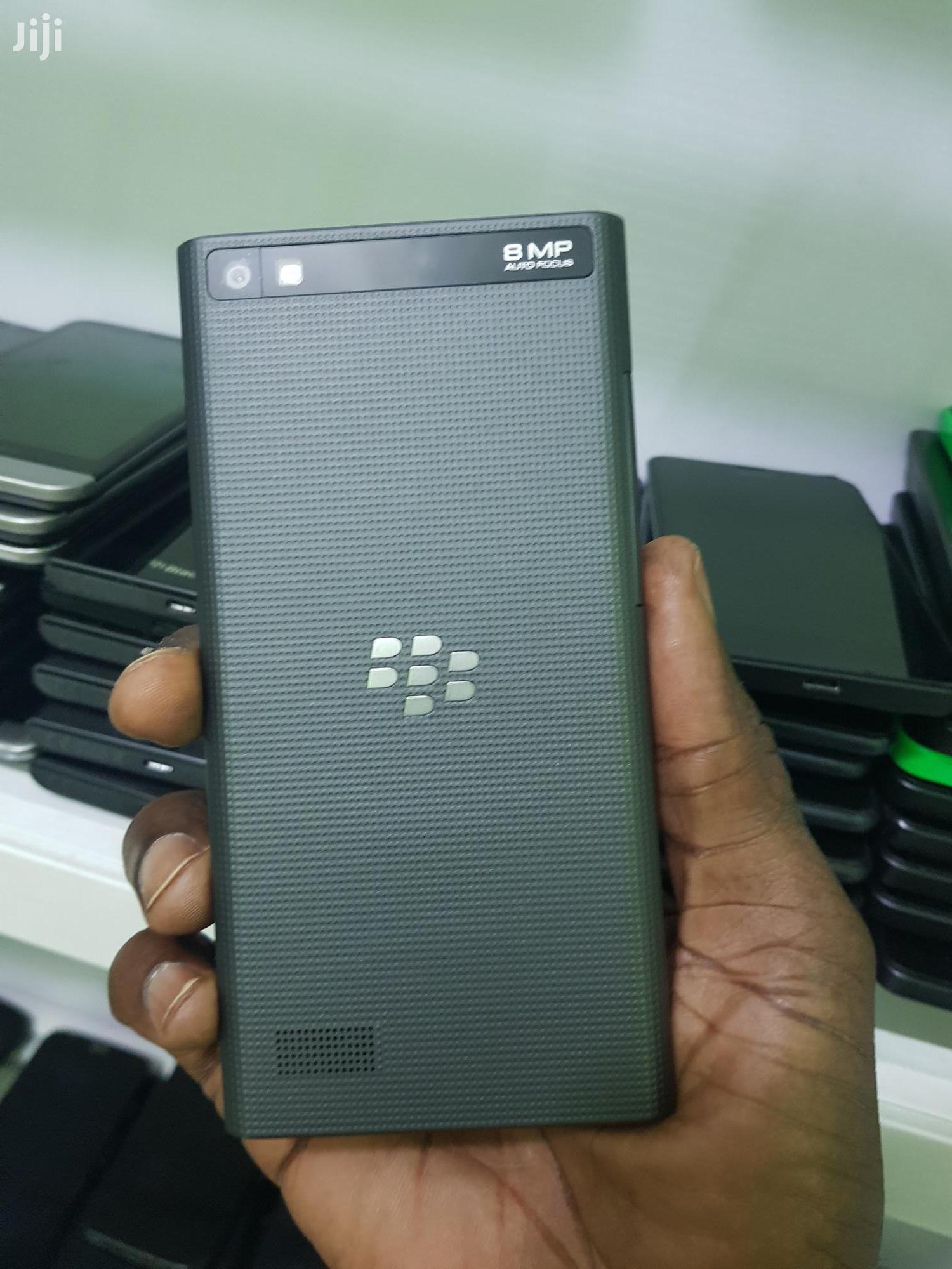 Blackberry Leap Black 16 GB | Mobile Phones for sale in Ikeja, Lagos State, Nigeria