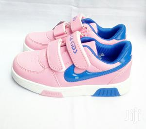 Pink and Blue Canvas Sneakers | Children's Shoes for sale in Lagos State, Lagos Island (Eko)