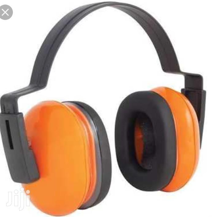 Plastic And PU Ear Muff, Noise Reduction | Safety Equipment for sale in Ikeja, Lagos State, Nigeria