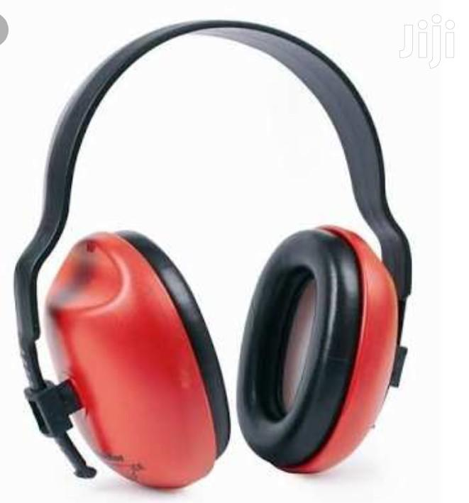 Plastic And PU Ear Muff, Noise Reduction