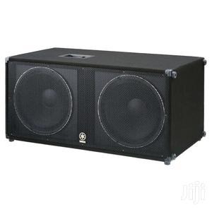 Yamaha SW218V Professional Loud Speaker | Audio & Music Equipment for sale in Lagos State, Ojo
