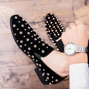 Men Gold Spiked Loafers Shoes   Shoes for sale in Lagos State, Alimosho