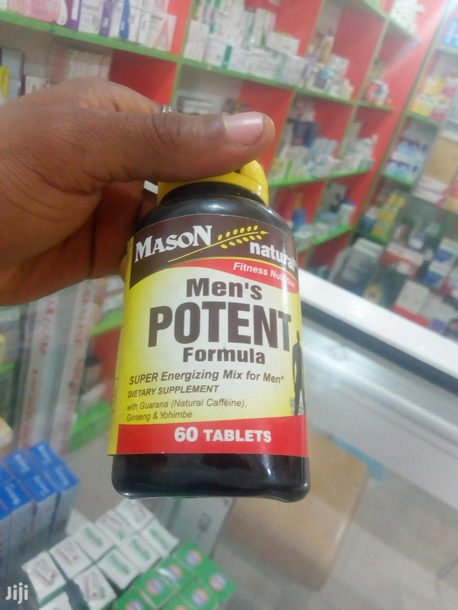 Men's POTENT | Sexual Wellness for sale in Guzape District, Abuja (FCT) State, Nigeria